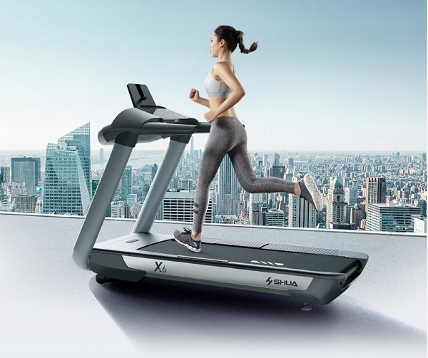 准确心率科学健身:舒华X6跑步机采用无线心率带